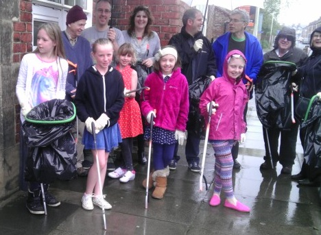 Litter pick 7th June 2014 - Copy